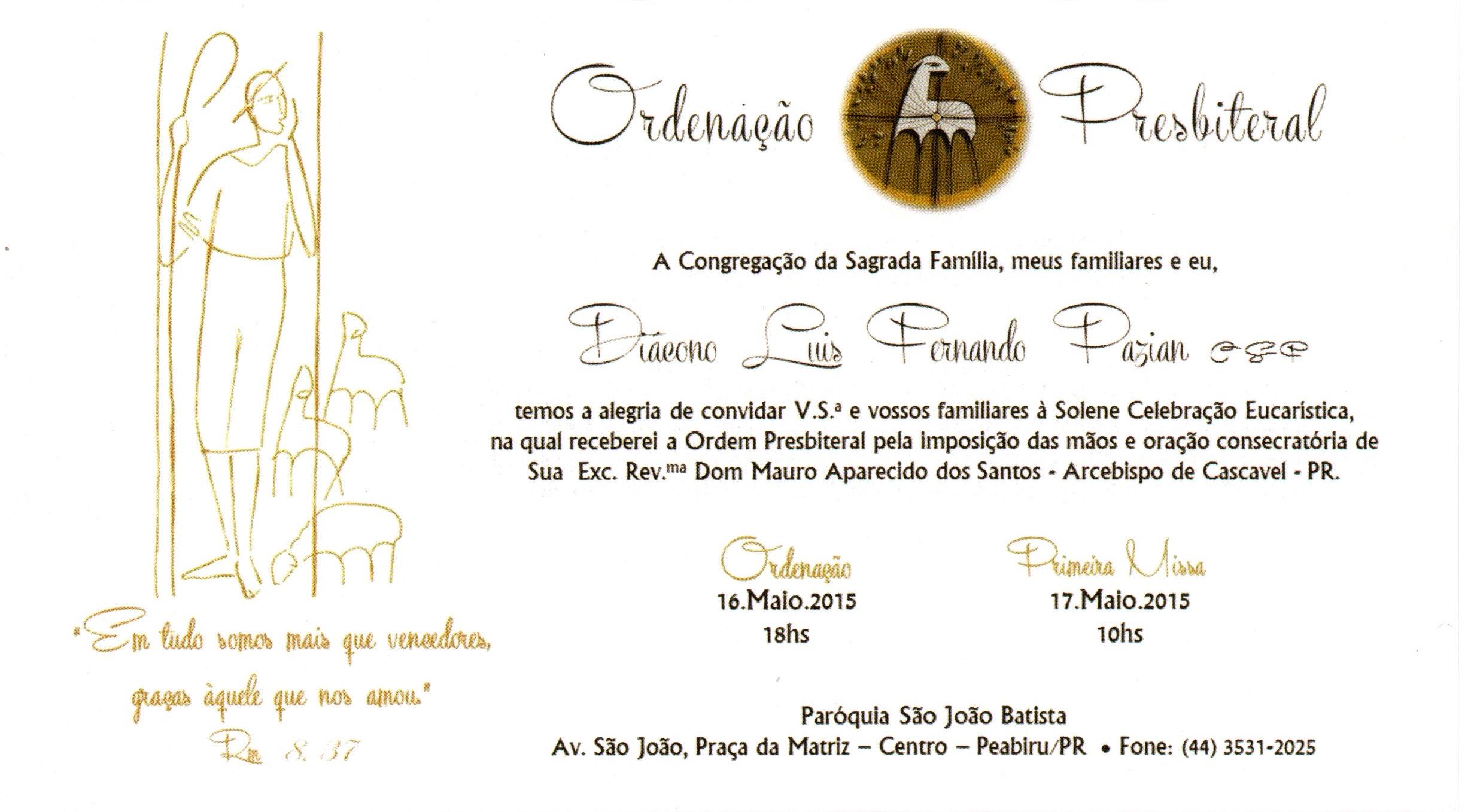 convite Luis